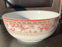 "Royal Doulton Studio Provence Rouge All Purpose Cereal Bowl 6"" Pink/Red Multiple"