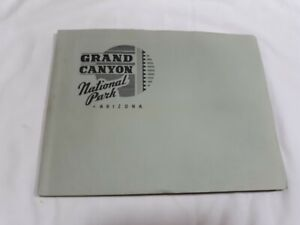 Grand Canyon National Park Vintage Book By Fred Harvey
