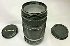 CANON EF-S 55-250mm 1:4-5.6 IMAGE STABILIZER ZOOM LENS WITH DIGICOM UV FILTER IS