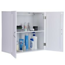 Bathroom Wall Cabinet Storage Cupboards Kitchen Storage Shelf Laundry Organizer