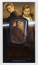 Topps Star Wars Attack of the Clones Anakin Skywalker Patch Card MP-2 12/50