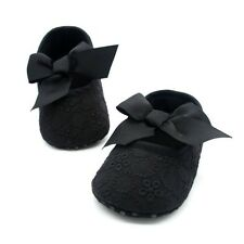 @@Candy Colors Laces Baby Toddler Shose Infant Girls Ribbon Crib Shoes 12