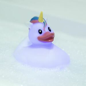 Thumbs Up Bath Unicorn Colour Changing Light Rubber Duck Children Toy