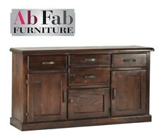 COBAR BUFFET TIMBER 6 DRAWER 2 CUPBOARD SIDE BOARD  FULLY CONSTRUCTED QUALITY
