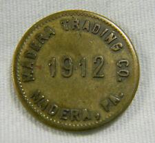 1912 USA Mandera PA good for 10 Trading co scrip token token  (0806)