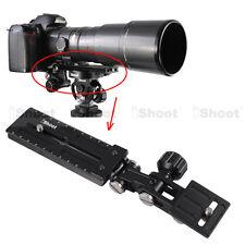 Teleobjektiv Schiene Neiger Kamera Platte Schnellwechselplatte für Stativschelle