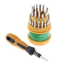 31 In 1 Screwdriver Set PDA Phone Repair Kit Tools for Hard Drive Watch PSP