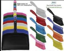 Vikan  5660_4589 Dustpan and Brush Set Sweeping Shovel Medium Bristle Hygienic