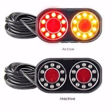 TRAILER/BOAT PAIR STOP/TAIL/INDICATOR & LICENCE 8 M CABLE 209 S LED AUTOLAMPS