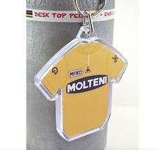 Eddy Merckx 1971 Molteni Yellow Cotton Cycling Jersey Keyring Tour de France