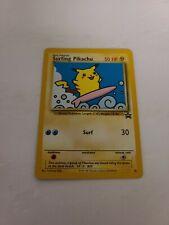 Pokemon SURFING PIKACHU Card BLACK STAR PROMO Set #28 Wizards of the Coast