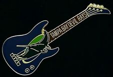 Tampa Bay Devil Rays Guitar Pin ~ MLB ~ Baseball