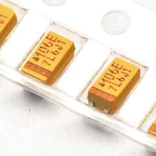 20pcs Tantalum Capacitors 25V 10uF Type A SMD 1206 10% Surface Mount