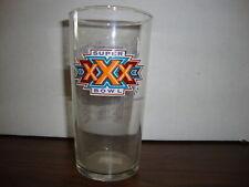 """Super Bowl XXX Glass---5 1/4"""" Tall"""