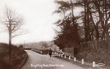 Brightling Road Robertsbridge RP old pc used 1910 Cooper