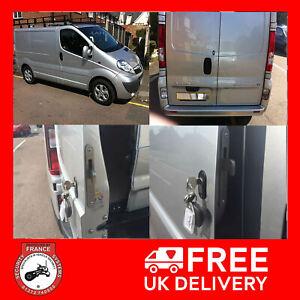 Vauxhall Vivaro 2001-2013 Rear Van Security Deadlock Hooklock Kit