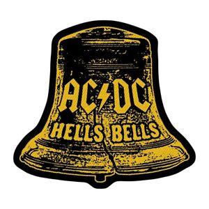 AC/DC Hell's Bells Die-Cut Patch [UK Import] Memorabilia Emblem Logo ACDC Hell's