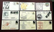 1966-1969 SPACE/SATELLITE FIRST DAY COVERS X 9 - EXCELLENT CONDITION