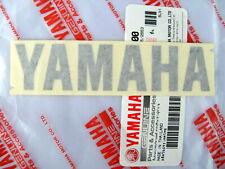 ORIGINAL Yamaha - 10cm -Schriftzug Aufkleber-DUNKEL GRAU-ANTHRAZIT-Sticker-Decal