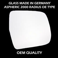 Toyota Previa Wing Mirror Glass - Silver,RH(Driver Side), 2000 to 2006