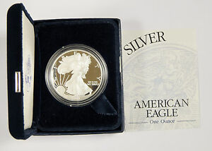 2003 Proof Silver Eagle with Box & Certificate w/ FREE SHIPPING