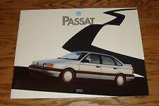 Original 1991 Volkswagen VW Passat Deluxe Sales Brochure 91