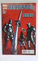 "DEADPOOL (2008 2nd Series) #50C - ""DEAD PART ONE! 2nd Print HTF Variant VF/NM"