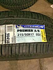 1 New 215 50 17 Michelin Premier A/S Tire