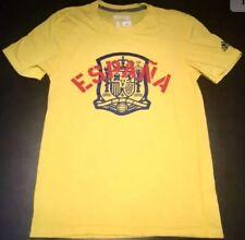 Spain National Soccer Team Espana RFCF Adidas Climalite Ultimate Tee Mens Small