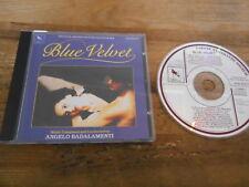 CD OST Angelo Badalamenti - David Lynch : Blue Velvet (14 Song) VARESE SARAB jc