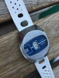 Ruhla Digi 73 Digital DDR Vintage Scheibenuhr