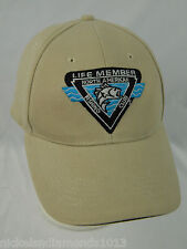 North American Fishing Club Life Member Tan Hat One Size Men's NAFC 1988