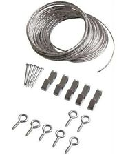 Prosource Ph-121123-Ps Picture Hanging Kit, Zinc Plated, 15' #2 Wire Size