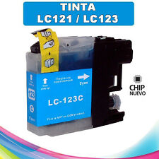 Lc123 XL cartucho compatible non OEM para Brother Lc-123 Cyan ultima version