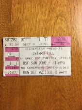 Dec. 02, 1991 Jethro Tull with  Guest Chrissy Steele in Tampa's USF Sun Dome