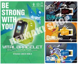 PRE Vital Bracelet Digital Monster ver. Special with DIM Card set EX Digimon