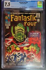 FANTASTIC FOUR #49 CGC 7.5 OW-W 1st Appearance GALACTUS 1st Cover Silver surfer