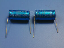 2pcs 100V 33uF Audio Speaker Divider Non-Polarized Axial Electrolytic Capacitor