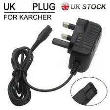 Mains Battery Power Charger Plug & Lead Cable For Karcher Window Vacuum Cleaner*