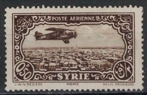 SYRIA:1933 SC#C47 MH Plane over Homs  X235