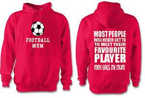 Football Mums Funny KIds football Team Hoodie