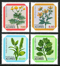 Portugal Azores 325-328, MNH. Local Flora, 1981