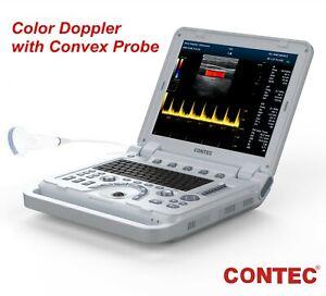 Portable Ultrasound Scanner Color Doppler Muscle Blood Vessel CW Optional 3D/ 4D