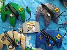 Nintendo 64 N64 lot Mario Party 3 4 controllers
