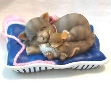 """Charming Tails """"Cat Nap"""" (Mouse/Cat) [Retired]"""