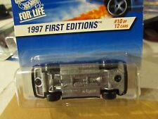 Hot Wheels Mercedes C-Class 1997 First Editions 10 of 12 Sideways in package