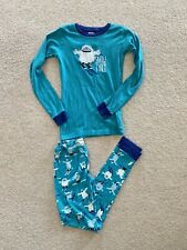hatley Long Sleeved boys pyjamas Age 12 Snow Tired