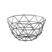Kitchen Food Basket Iron Wire Mesh Fruit Bowl Basket Organizer Vegetable Y1C6