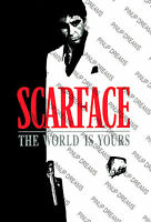 Scarface Movie Poster Re-print - Vintage Retro Cult Film Art 02,  A4, A3, A3+