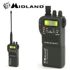 MIDLAND ALAN 42 AM FM Multi Bandas de móviles Portátil Cb Transceptor Radio &